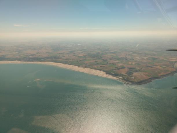 Cap Gris Nez in France - turn left for Calais, right for Le Touquet